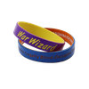 Coated Color Silicone Wristbands for Sports