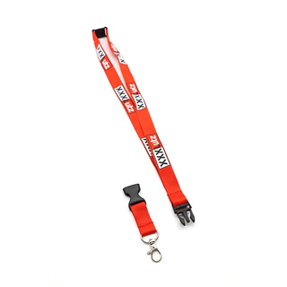 Polyester Gift Promotion Customized Safety Lanyard With Badge reel