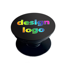 Custom Logo Gift company logo mobile phone stand pop up phone holder socket stand grip customized picture free sample