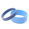 Skyee Cheap Custom Logo Silicone Bracelet Embossed Rubber Silicone Bracelet