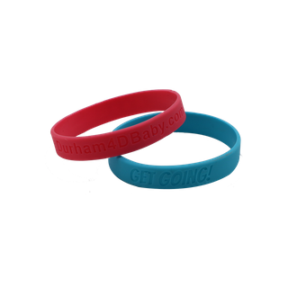 Skyee Custom Design Cheap Price custom wristbands rubber bracelets Debossed Silicone Wristband