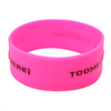skyee Embossed Printed Unique Logo Personality silicone bracelets suppliers