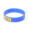Skyee 2019 Cheap price rubber bands silicone wristbands debossed color filled wrist bands