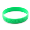 Skyee No Minimum Promotional Sport Silicone Wristband Sports Rubber Bracelets Debossed silicone wristband