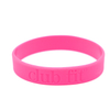 Skyee High Quality Custom Wristbands cheap Debossed silicon wristband for sale