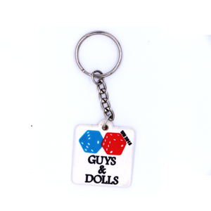 Factory Custom 3D/2D Soft Pvc Keychain Key Chain / Soft Rubber Keychains / Silicone Keyring