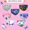 Disposable 3ply thickened children adults face mask with butterfly pattern