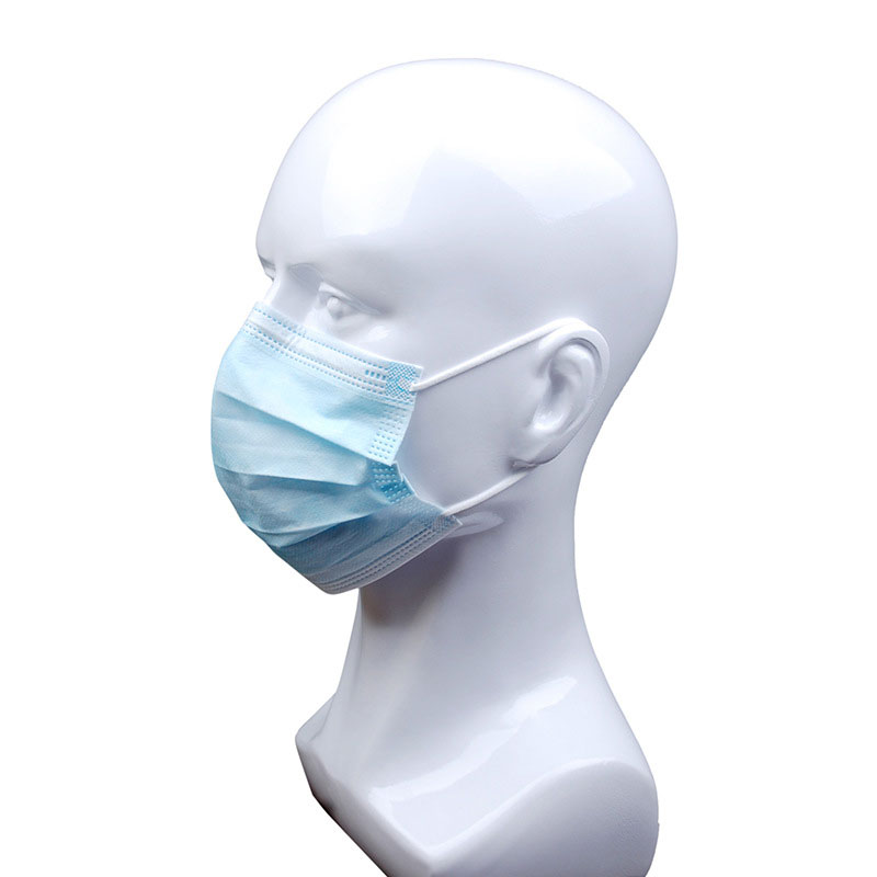 10pcs colorful 3ply dust-proof bacteria filtering disposable face mask for adult