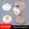 Kn95 headwear cup mask anti dust face mask with breathing valve